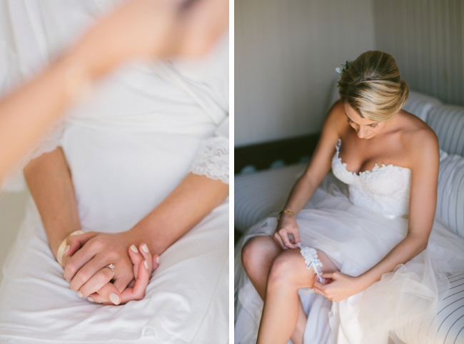 White Lace Wedding Dress by Kristi Agier Photography