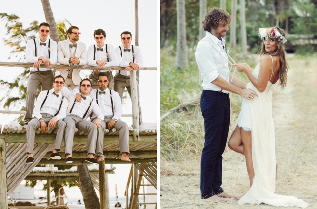 20 beach wedding looks for grooms groomsmen southbound bride groom beach wedding attire pictures junglespirit Choice Image