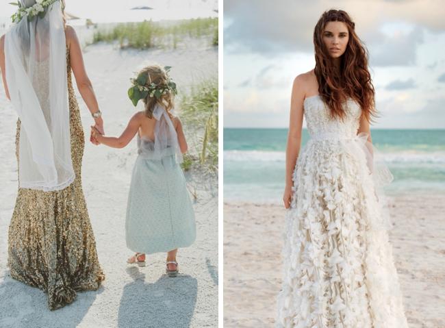 Beachy Wedding Gowns: 25 Dreamy Beach Wedding Dresses
