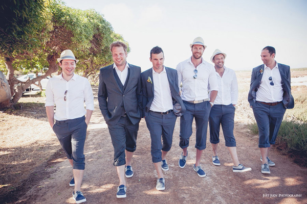 Beach Wedding Groom Attire Shorts