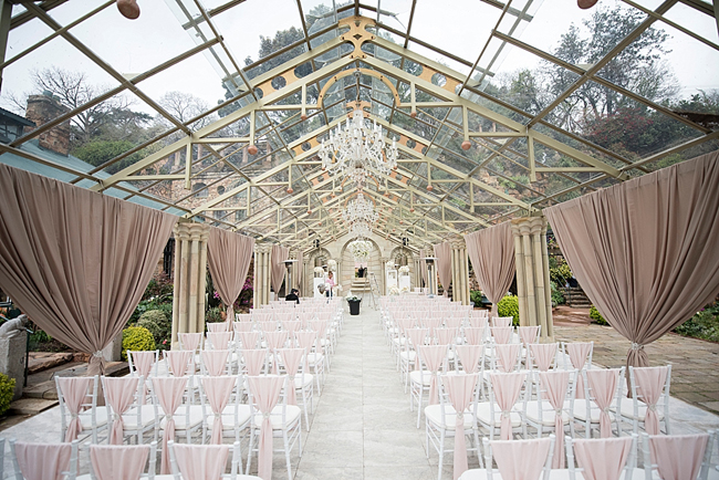 Glass Chapel Ceremony at Shepstone Gardens