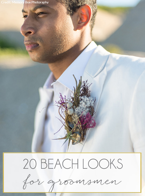 Beach Wedding Groom Attire