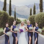 Navy & Lavender Grande Provence Wedding by Fiona Clair