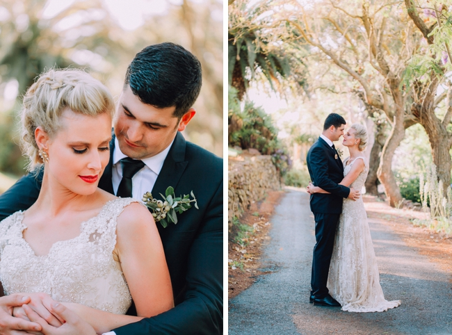 Bride and Groom Portraits by Michelle Du Toit Photography