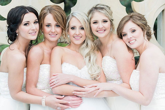 Romantic Rose Gold Wedding at Shepstone Gardens by Jack and Jane Photography