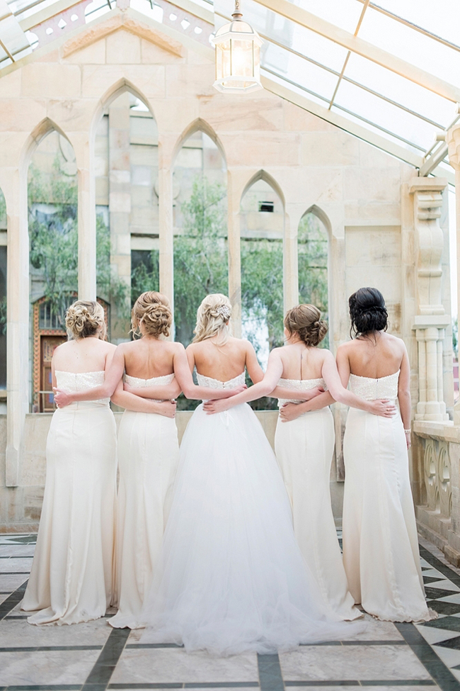 Elegant Sequins Bridesmaids Dresses