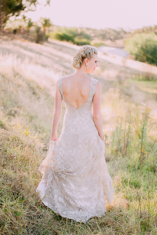 Custom Lace Alana Van Heerden Wedding Dress