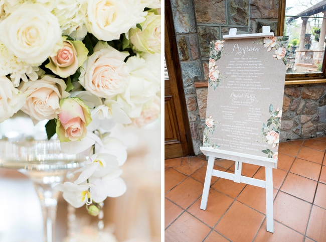 Custom Floral Program by Jack and Jane Photography