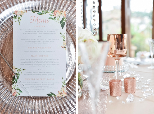 Romantic Rose Gold Wedding by Jack and Jane Photography