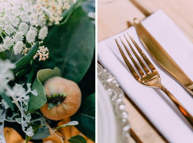 Golden Cutlery by Dairy Shed