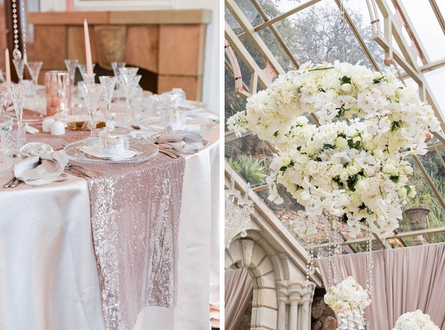 Hanging Floral Arrangement at Shepstone Gardens