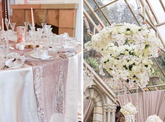 Hanging Floral Arrangement at Shepstone Gardens