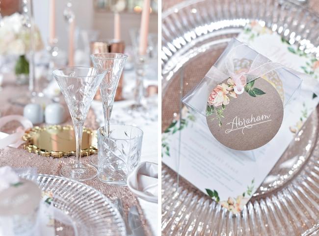Custom Floral Wedding Stationery
