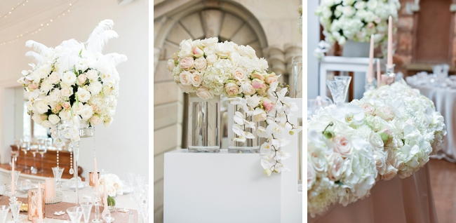 Roses and Rose Gold Details by Jack and Jane Photography