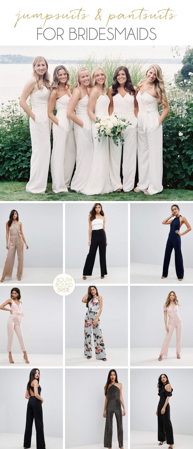 Bridesmaids in Jumpsuits | SouthBound Bride