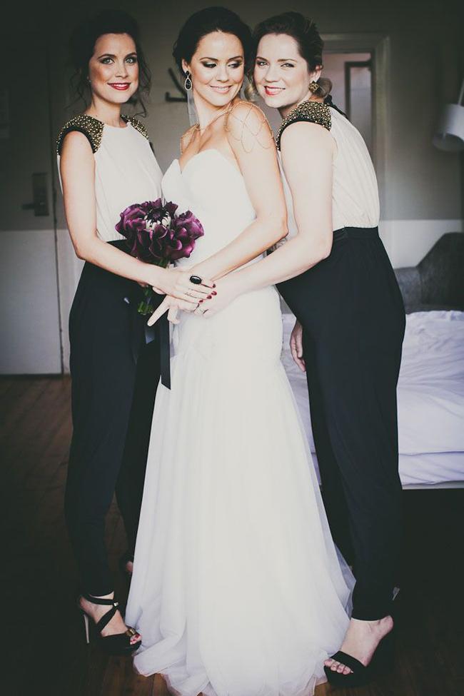 Jumpsuit Bridesmaid Trend