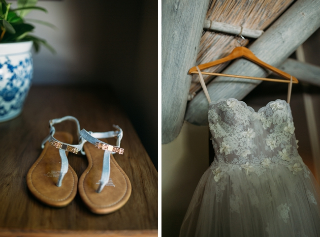 Custom Janita Toerien Lace Wedding Dress