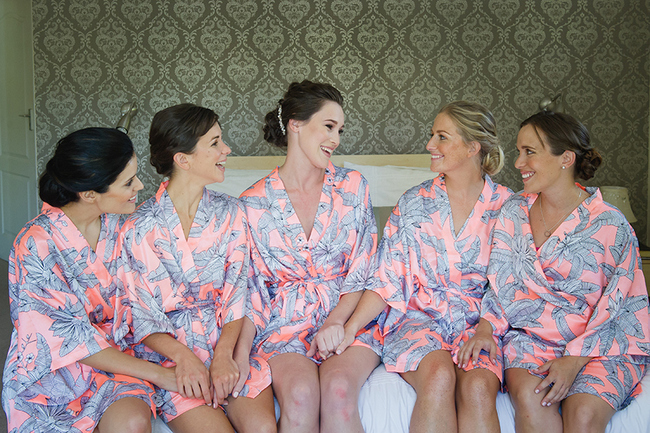 Island Inspired Bridal Robes