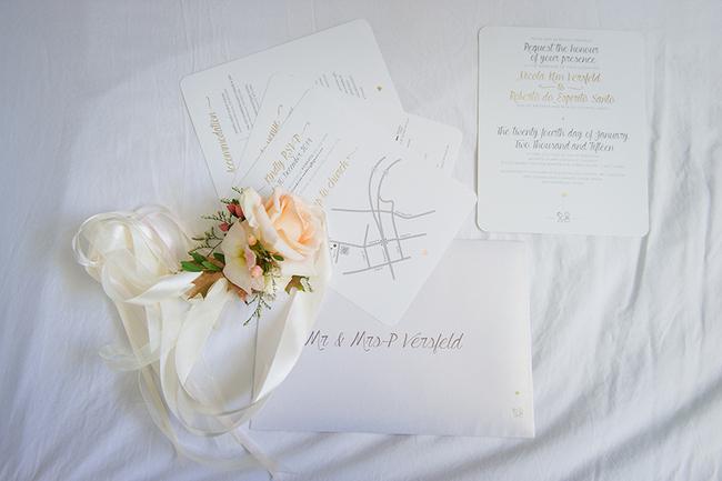 Custom Wedding Sationery by Liezl Liebenberg