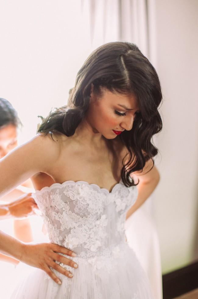 Custom Janita Toerien Wedding Gown