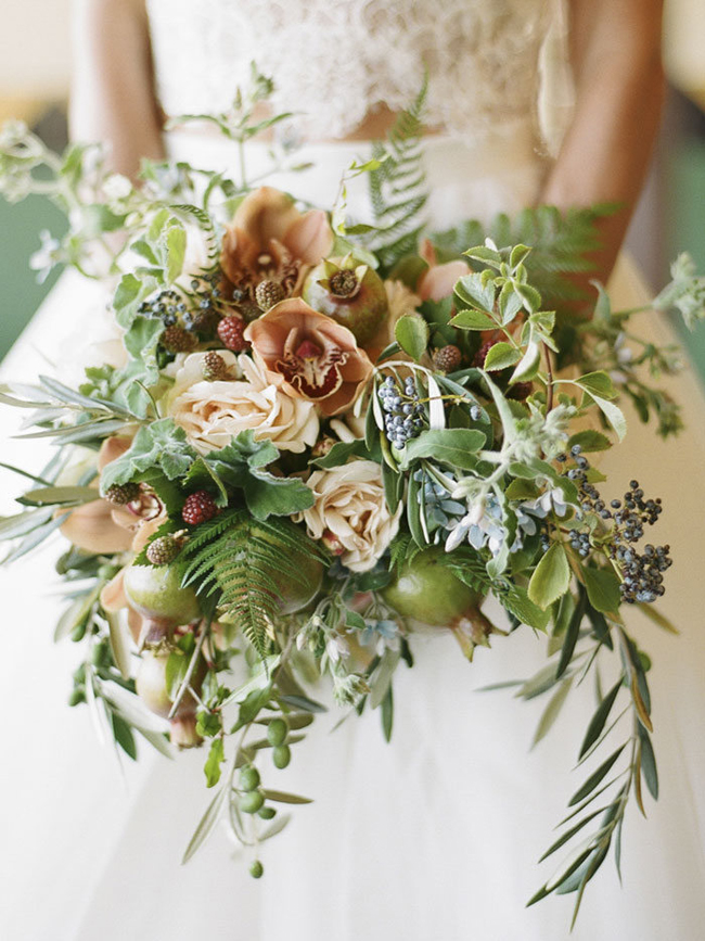 20 More Fruit Amp Vegetable Wedding Bouquets Southbound Bride