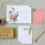 Rustic Farmer's Market Style Wedding Invitations