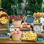 Farmer's Market Wedding Details