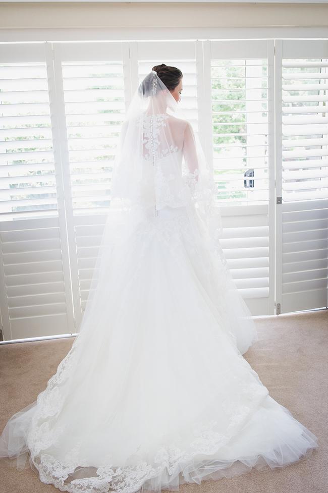 Custom Lace Robyn Roberts Wedding Dress