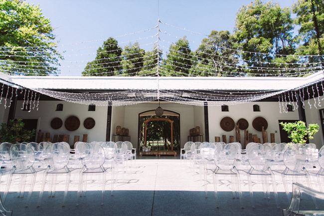 Modern Outdoor Wedding Ceremony at Molenvliet