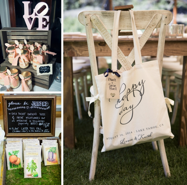 Farmers Market Wedding Ideas Favors