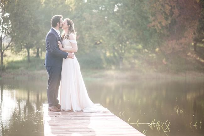 Romantic Lakeside Portrait by CC Rossler Photography