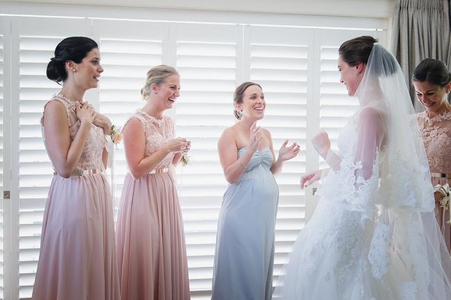 Bride Getting Ready by Lauren Kriedemann Photography