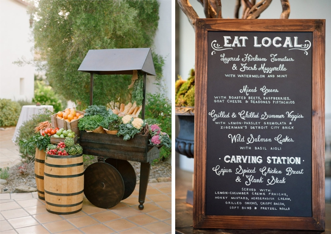 Farmers Market Wedding Ideas Local Produce