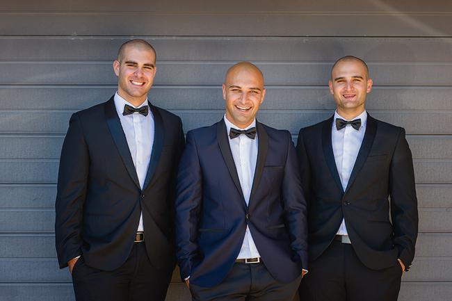 Groomsmen with Bowties
