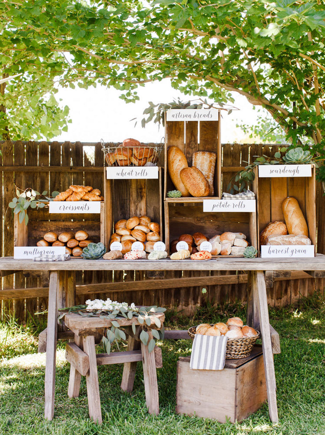 Farmers Market Wedding Ideas Food Stations