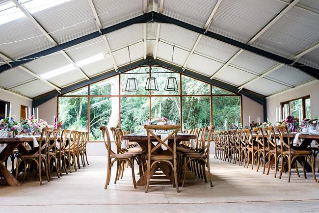 Romantic Woodlands Wedding