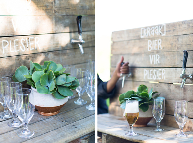Farmers Market Wedding Ideas Craft Beer