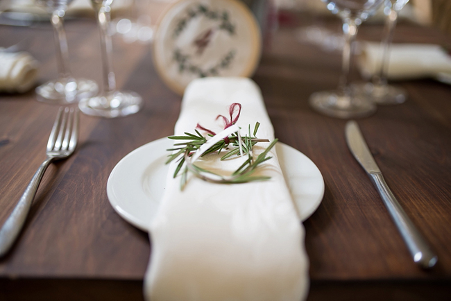 Romantic Berry-tones Wedding at The Glades