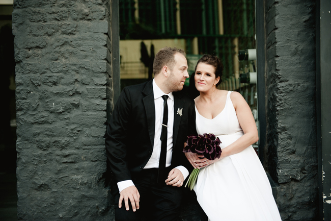 Graphic Inner City Wedding by Jules Morgan Photography