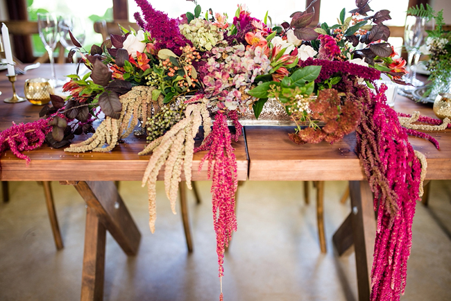 Bright Cascading Floral Arrangements