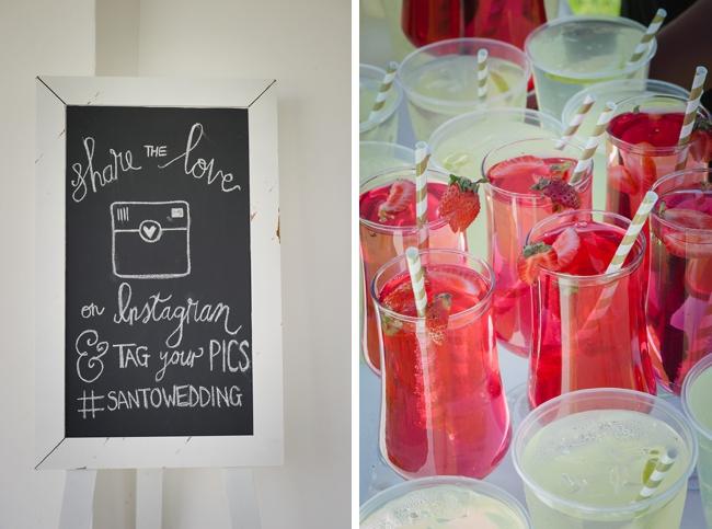 Strawberry Cocktail Pre-drinks by Lauren Kriedemann Photography