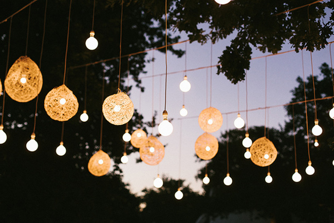 Farmers Market Wedding Ideas Cafe Lights