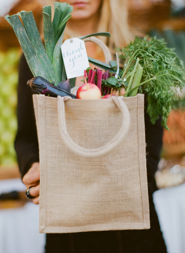 Farmers Market Wedding Ideas Donate Leftovers