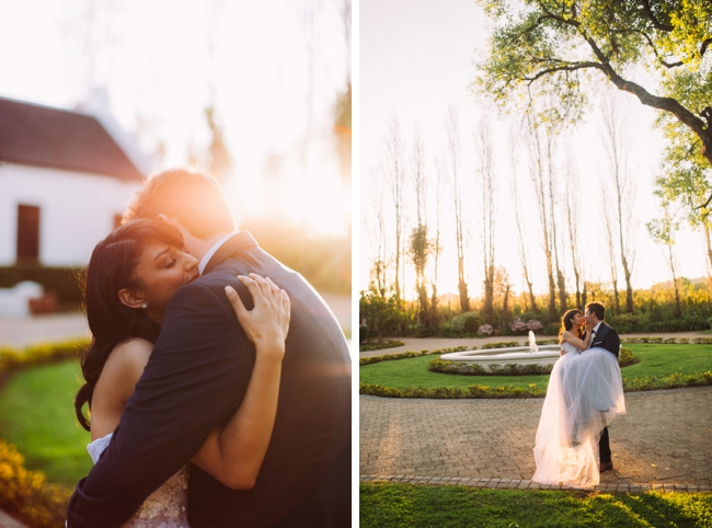 Romantic Garden Couple Shoot by Moira West