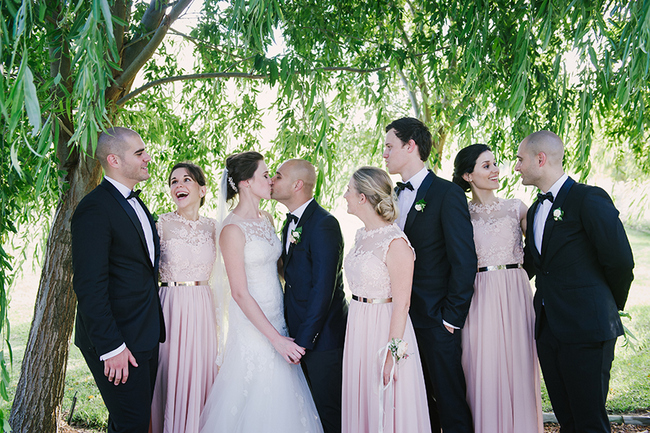 Timeless Blush Wedding at Kleinevalleij