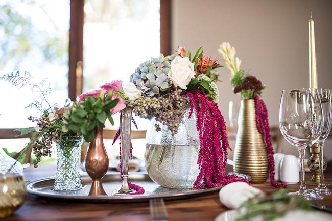 Berry-tones Flowers for Wedding Decor