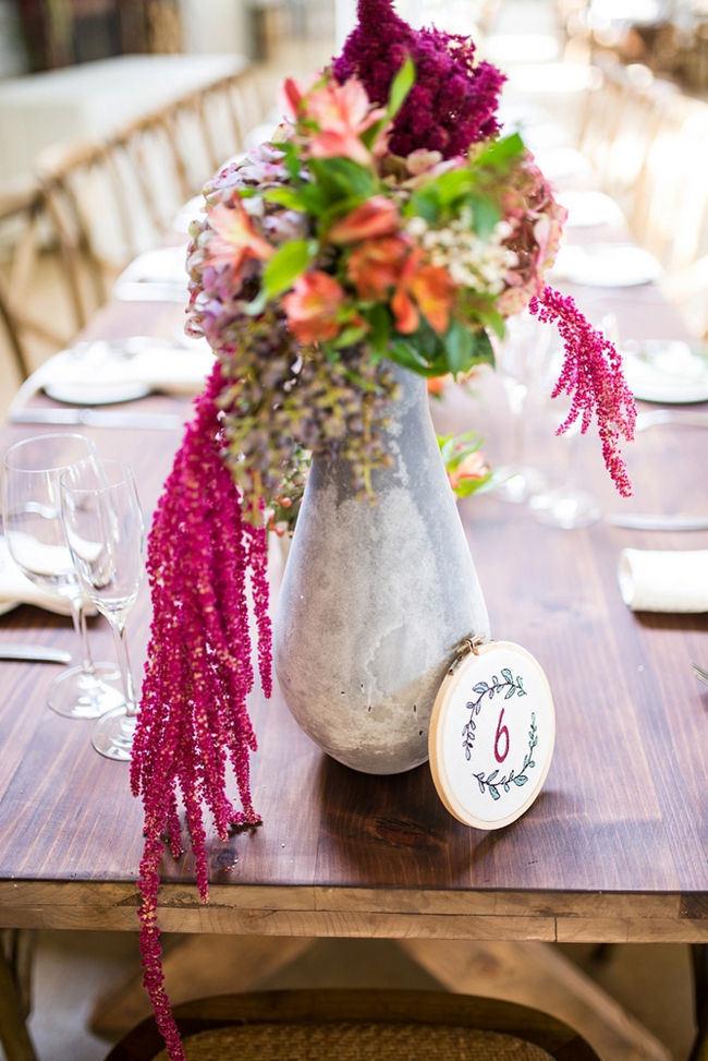 Stone and Wooden Wedding Elements