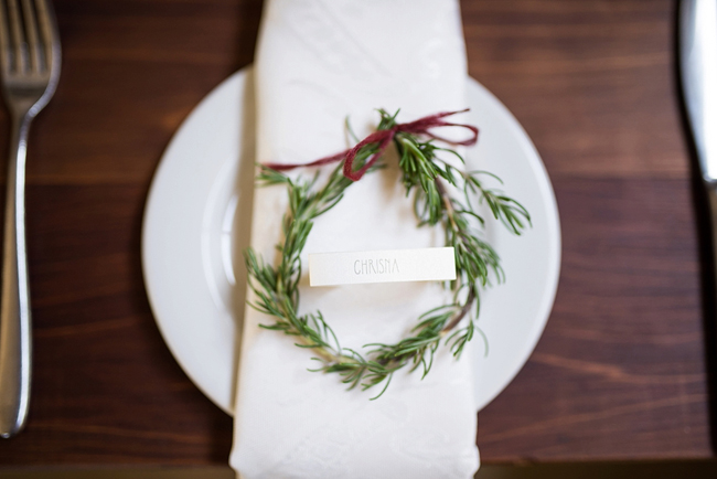 Wreath Wedding Name Placements