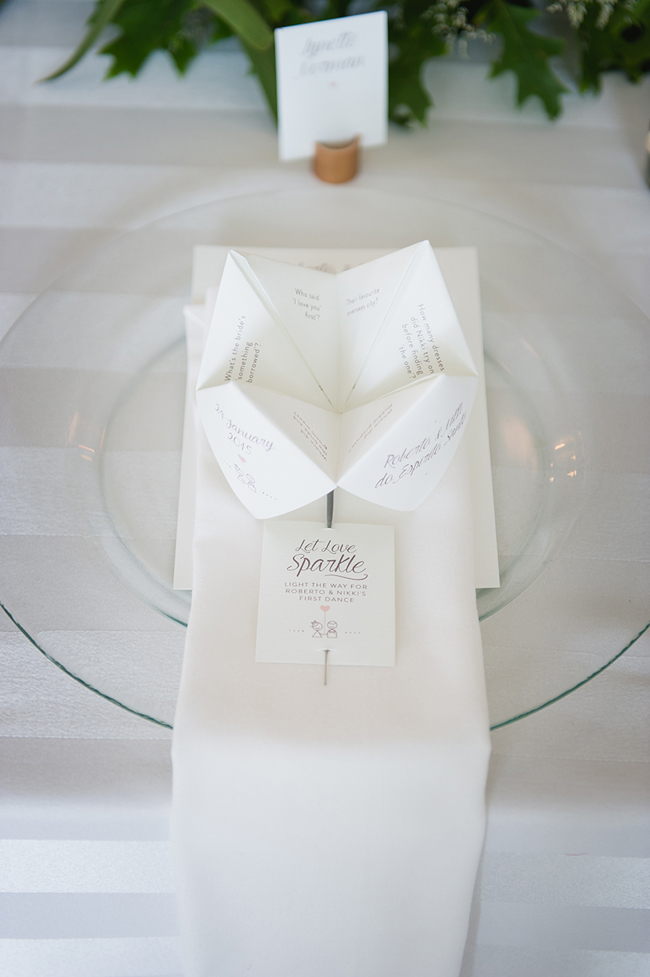 Custom Origami Wedding Stationery