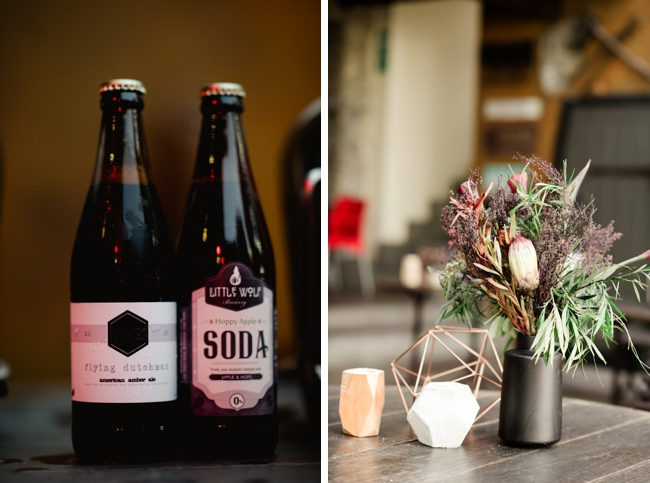 Craft Beer Wedding Favours by Jules Morgan Photography